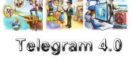 Telegram 4.0 : Vidéo, paiement par bot et Instant View