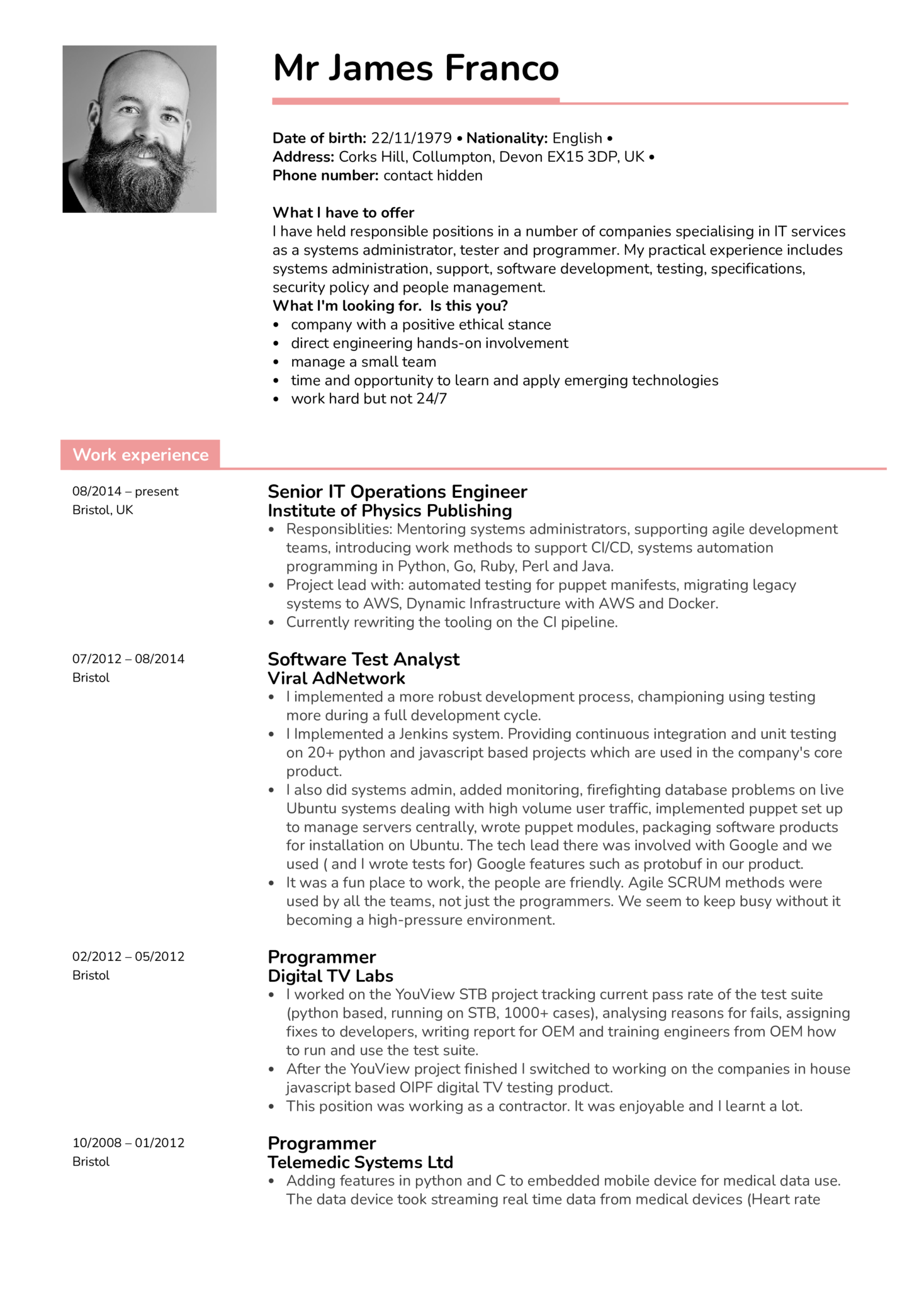 Cloud Consultant Resume Resume Examples By Real People Senior It Operations