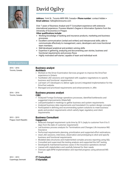 250 Resume Samples From Real Professionals Who Got Hired