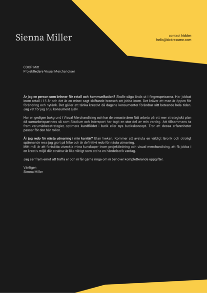 Cover Letter For Intelligence Analyst Position