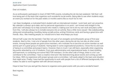 Fleet Coordinator Cover Letter | Federal Identity Program Manual ...