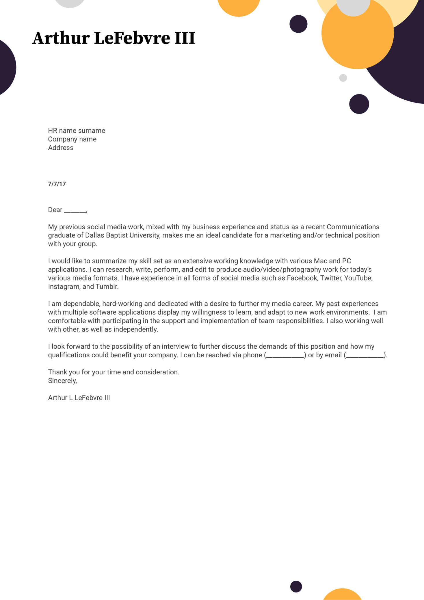 Cover Letter Examples by Real People Data Entry cover