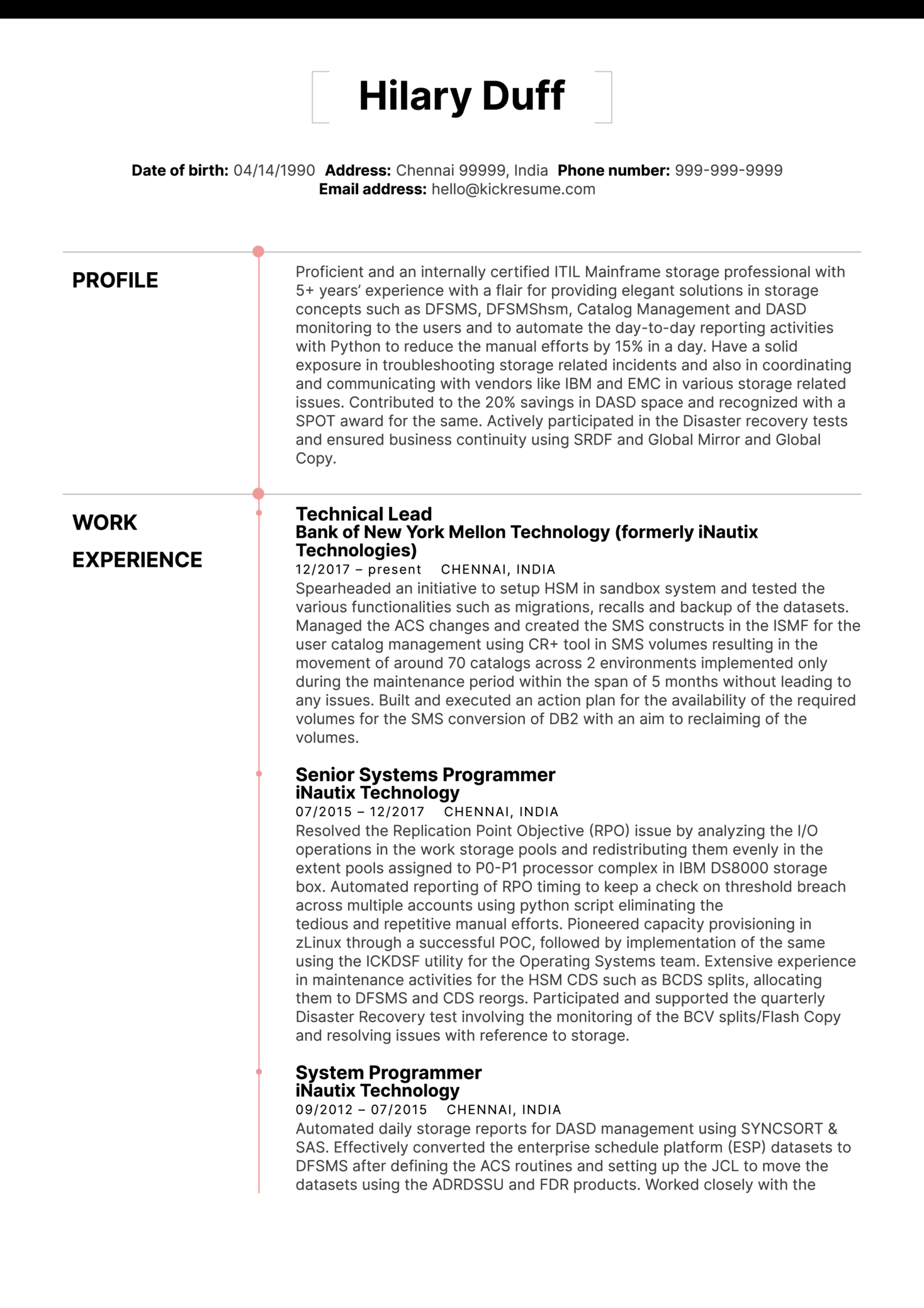 Cloud Consultant Resume Resume Examples By Real People Technical Lead Resume