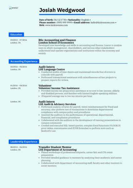 Midlevel Accountant Resume Sample resume sample  Career