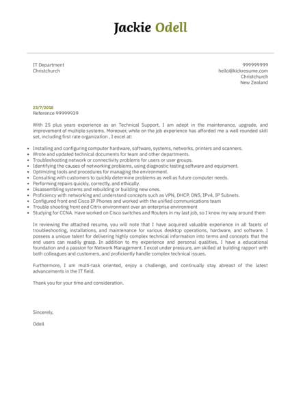 50 Cover Letter Samples from Real Professionals Who got Hired  Kickresume