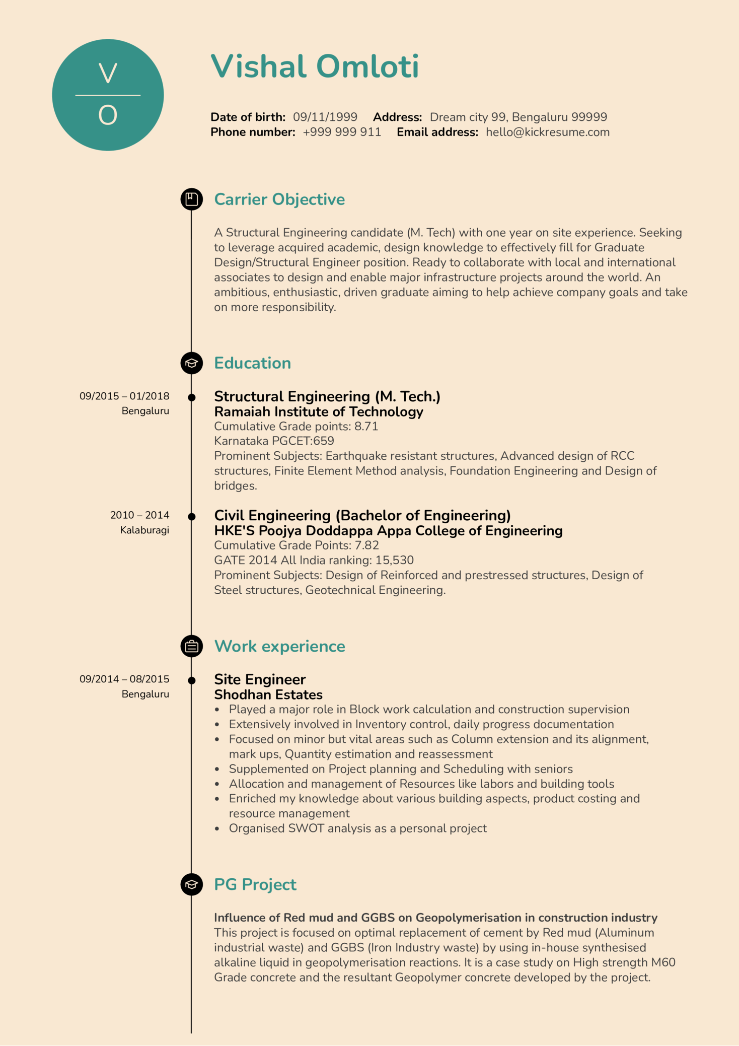 structural engineering resume