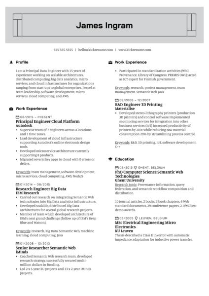 sample resume for fresh graduate devops engineer