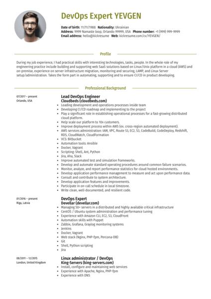 Resume samples  Career help center