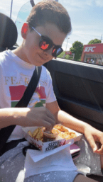 Arthurs first KFC for months