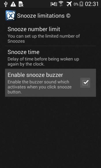 Изменить уровень громкости будильника