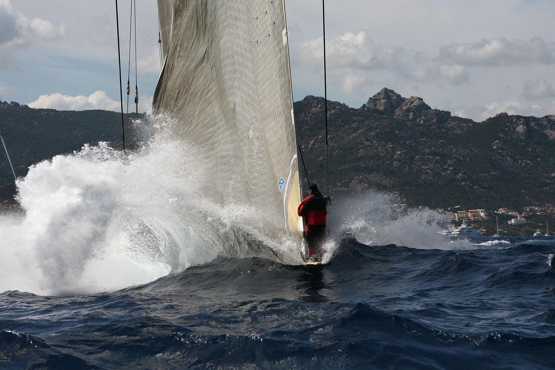 Velsheda Maxi Yacht  Rolex Cup- Photo: © Andrea Pisapia /Spazio Orti 14
