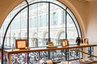 Boutique Hermès Torino Photo: © Andrea Pisapia Spazio Orti 14 Architettura