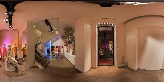 Pano Boutique Agnona Photo: © Andrea Pisapia Spazio Orti 14 Vr 360°