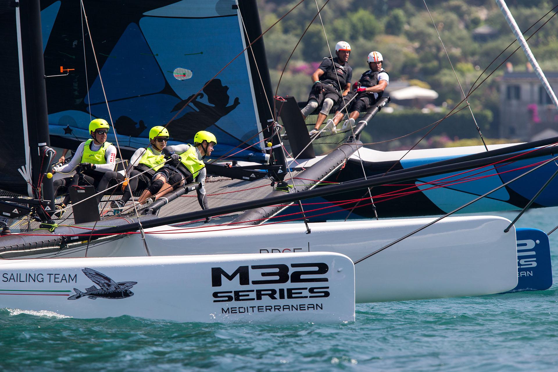 M32 Porto Venere 2016 Photo: © Andrea Pisapia BPSE B-Plan Sport and Events