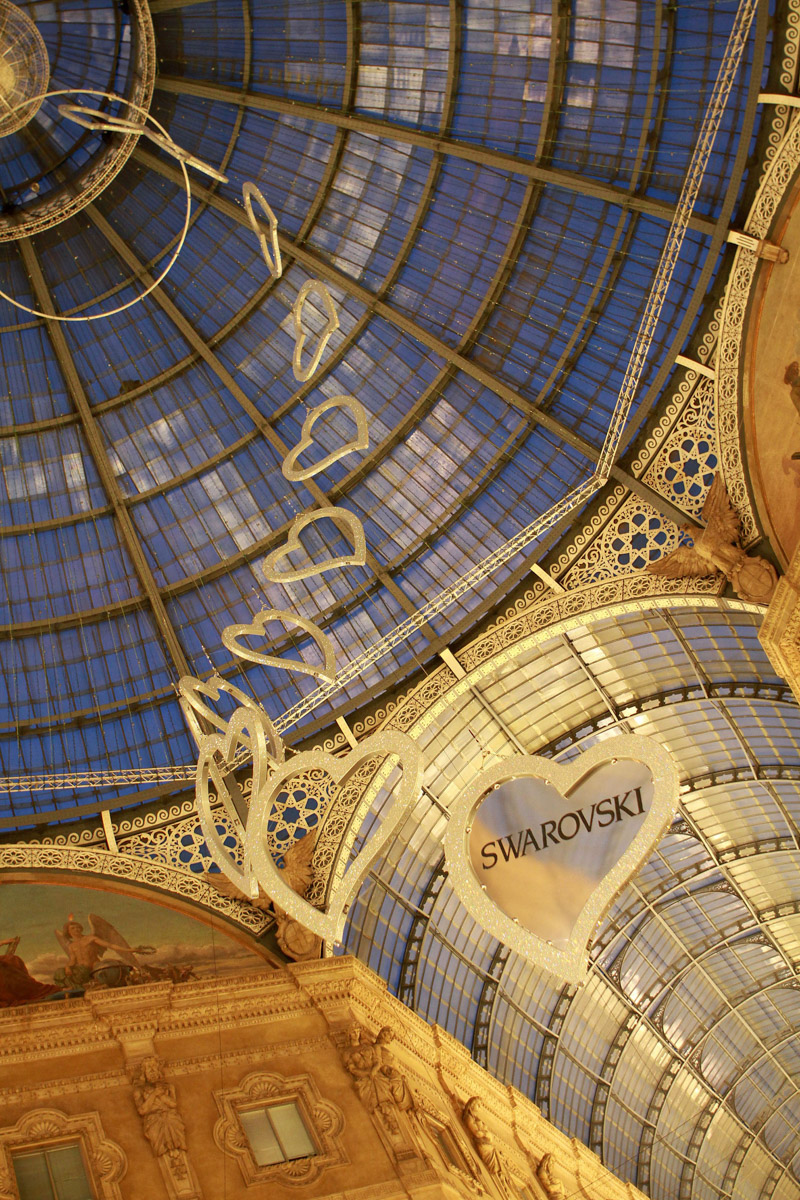 Eventi Swarovski Galleria Vittorio Emanuele - Photo: © Andrea Pisapia / Spazio Orti 14