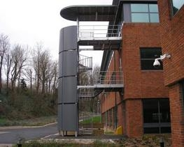 Steel Fire Escape Stairs By Steelway Fensecure Ltd   Steel Fire Escape Stairs   Architectural   Internal   Industrial   Emergency   Fire Exit