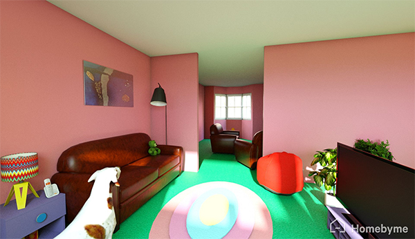 Doh  La maison des Simpson est sur Homebyme   HomeByMe