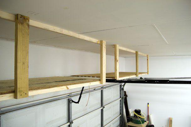 Vliering en ophangsystemen in garage maken  Werkspot