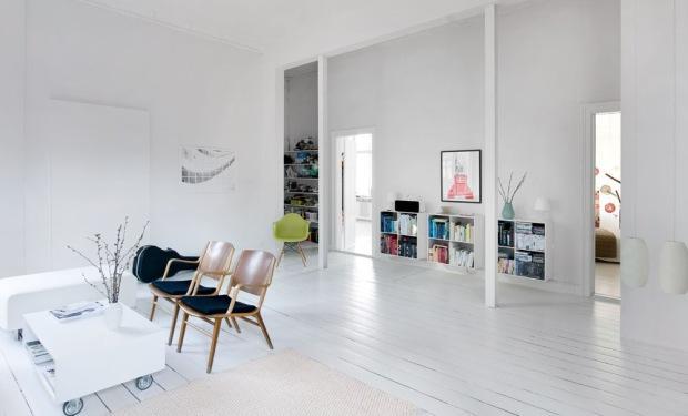Grenen vloer leggen en wit verven  Werkspot
