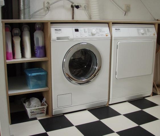 Wasmachinedroger meubel  Werkspot