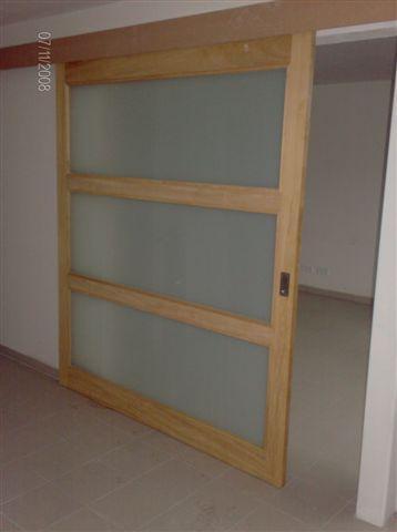 Het maken van een houten schuifdeur als afscheiding tussen