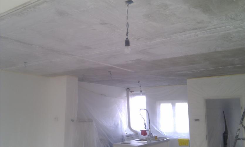 Betonnen Plafond Stucen  Werkspot