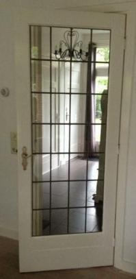 Binnendeur met glas in lood - Werkspot
