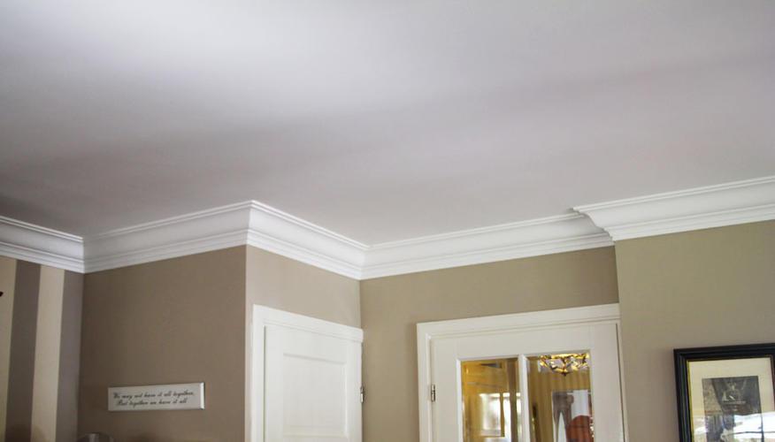 Lijsten plafond woonkamer plaatsen SPOED  Werkspot