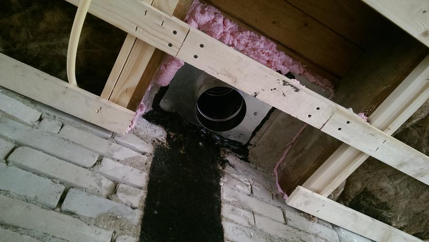 Plaatsen houtkachel aan nisbus  Werkspot