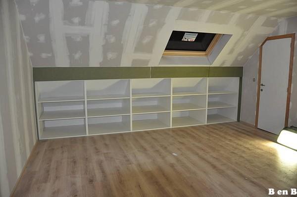 Zolderkamer kasten maken  Werkspot