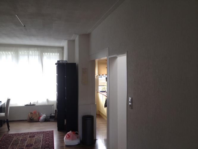 Uitbreken muur tussen keuken en woonkamer ong 2 x 3