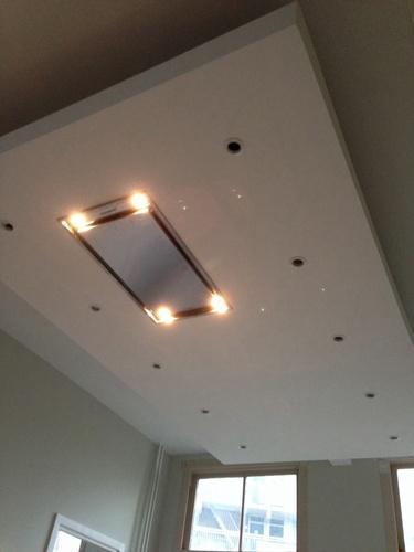 Gipsplaten bak  verlaagd plafond  Werkspot