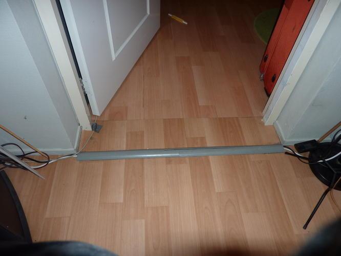 Drempel in vloer verzinken  Werkspot