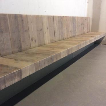 Maken zwevende muurbank  Werkspot