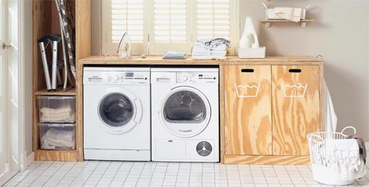 Ombouw timmeren wasmachine en droger  Werkspot