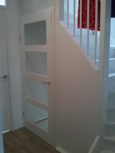 Deuren plaatsen voor open trap  Werkspot