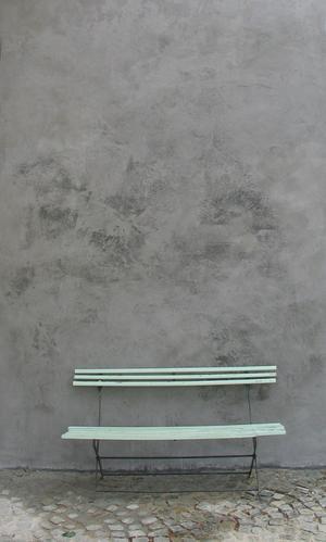 Stucen buitenmuur met betonlook  Werkspot