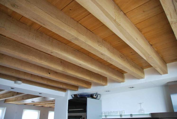 Houten Balken Plafond Maken LFI26  AgnesWaMu
