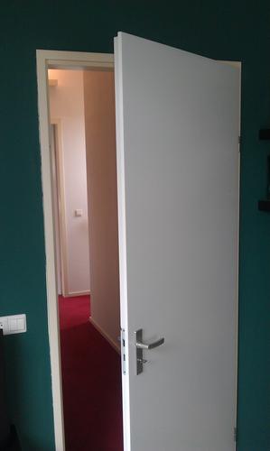 Opdekdeur vervangen door stompe binnendeur  Werkspot