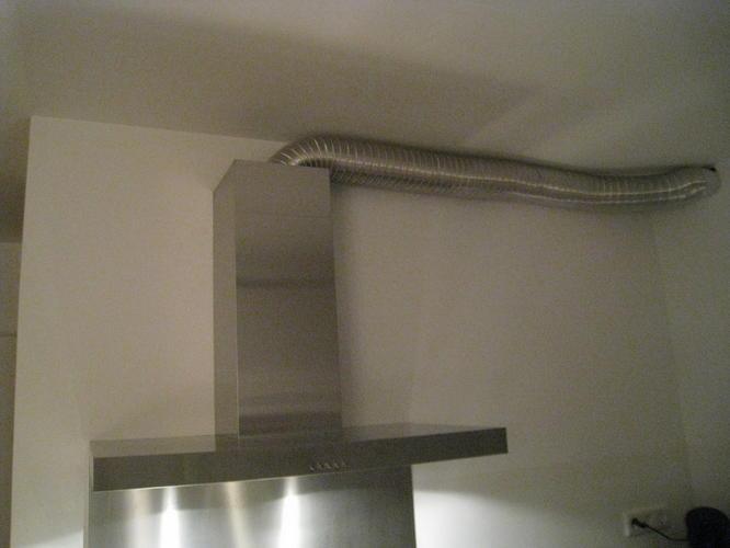 Koof voor afzuigkanaal keuken  Werkspot