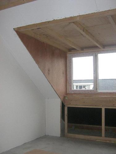 Afwerken binnenzijde dakkapel  Werkspot