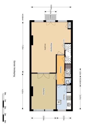 Verbouwen appartement Amsterdam 70m2  Werkspot