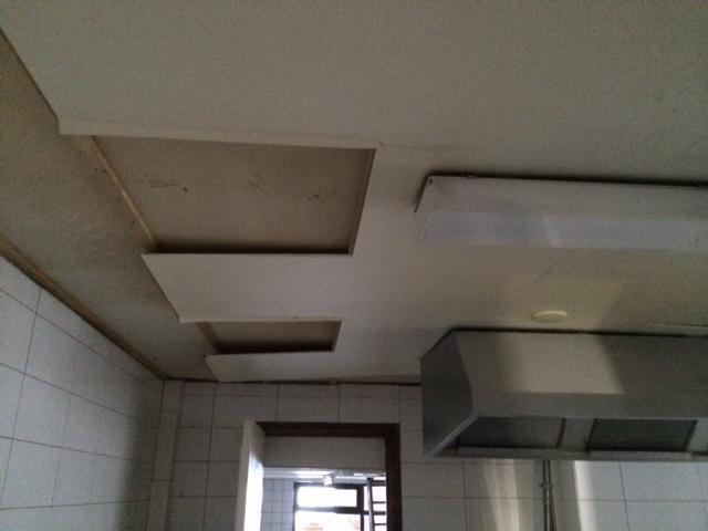 Agnes plafond platen vervangen  Werkspot