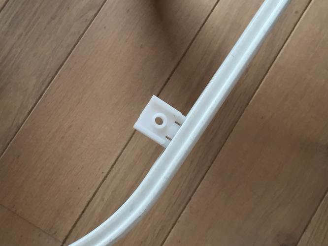 Gordijn rails met bocht ophangen  Werkspot