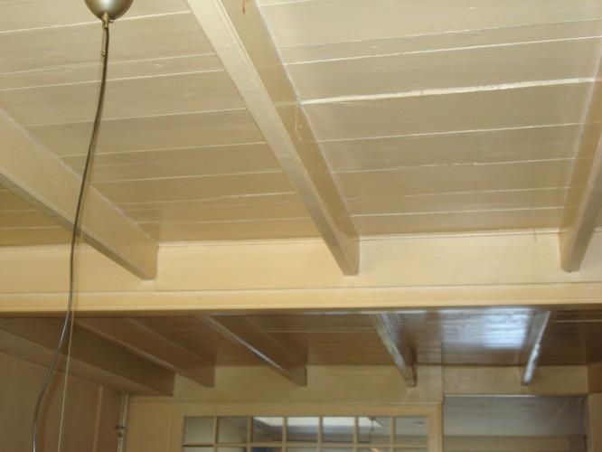 Schilderen houten plafond  Werkspot