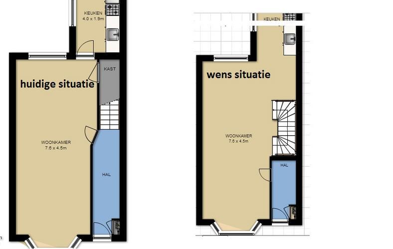 trappen vervangen en trapgat verplaatsen  Werkspot