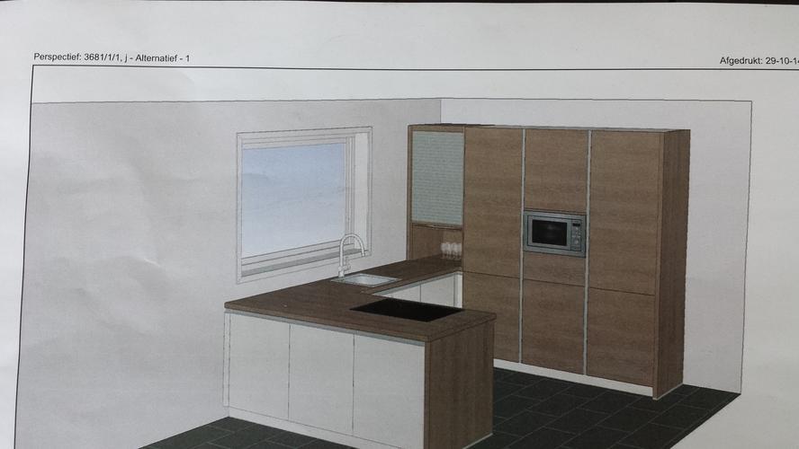 Bestaande slaapkamer badkamer beneden ombouwen tot keuken