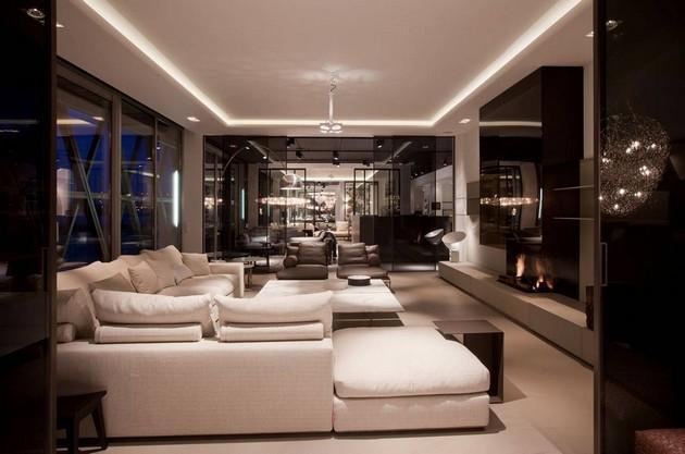 Plafond met koof en verlichting  Werkspot