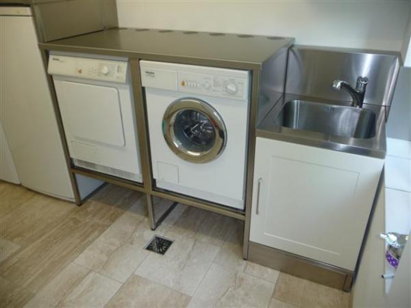 rvs verhoging maken voor wasmachinedroger  Werkspot