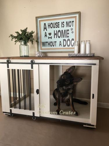 Houten hondenbench  Werkspot
